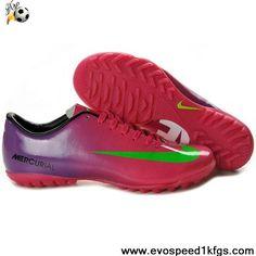 Buy New Red Green Purple Nike Mercurial Vapor IX TF Football Shoes Shop