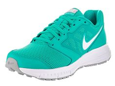 Nike Womens Downshifter 6 Clear JadeWhiteWlf GryWhite Running Shoe 65 Women US * More info could be found at the image url.