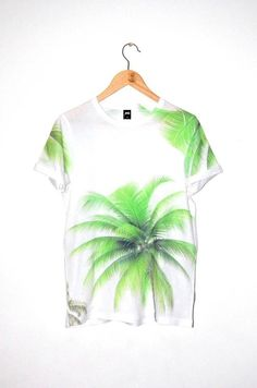 Coyote Atelier wishlist: a neon palm tree shirt to wear when you can't be in Palm Springs, California.
