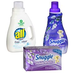 En Walgreens puedes conseguir una variedad seleccionada en detergente All o Snuggle a 2X$7.00 en especial desde el 3/5–3/11. Compra (2) y ...