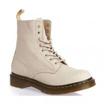 Dr Martens - Pascal -  8 Eyelet Boots - Ivory