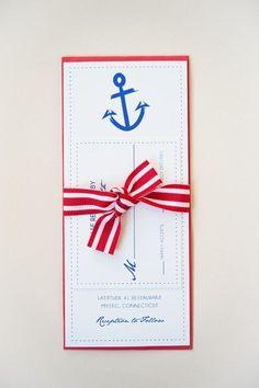 Cute and patriotic #wedding invitations! {Roseville Designs}