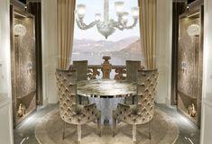 Cornelio Cappellini |  Luxury dining room. #corneliocappellini #luxuryhouse #homedecor #interior #exclusivedesign #madeinitaly #luxuryitalianfurniture #exclusiveitalianfurniture