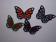 Hama Bead Butterflies.