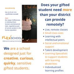 FlexSchool's synchronous online program offers more than most districts are able to provide. Our small class size and unique approach to gifted and 2e learners helps students stay engaged, even while learning remotely.  Learn more at one of our Virtual Open House events. Online Programs, Open House, Behavior, Students, Events, Learning, Unique, Behance, Studying