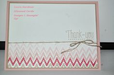 "Stampin' Up's ""Eye-catching Ikat"" photopolymer stamp set."