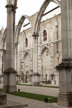 Lisbon - Museu Arqueológico do Carmo. Contains many treasures from monasteries dissolved following the 1834 Liberal revolution.