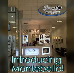 Our brand new Brow Arc Dry Bar in Montebello Town Center, Montebello CA!  Blowouts, hair cuts, color, style...PLUS threading, henna, makeup, lashes, waxing!