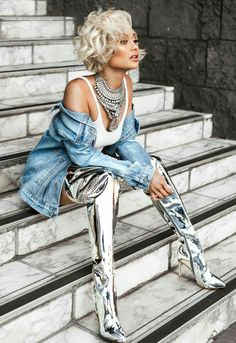 fashion-boots: Micah Gianneli in Balenciaga boots ⋆ Trend Angeles style News Fashion, Fashion Models, High Fashion, Fashion Beauty, Fashion Looks, Fashion Outfits, Womens Fashion, Micah Gianelli, Balenciaga Boots