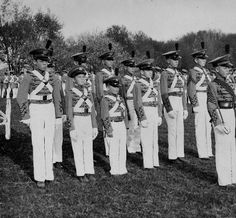 Cadets, Kentucky Military Institute, Lyndon, Kentucky, 1935. :: Herald-Post Collection