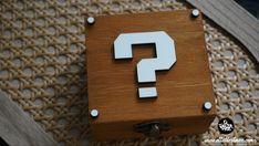 Caja gamer , caja madera , decoración, regalo...