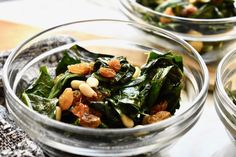 Winter Greens Salad – Stephanie Spring