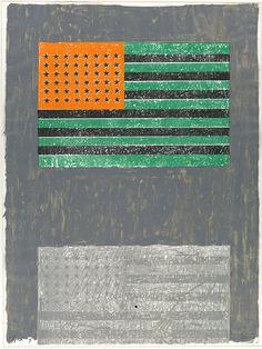 Jasper Johns: Flags (69.701.2) | Heilbrunn Timeline of Art History | The Metropolitan Museum of Art