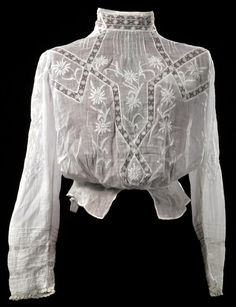 Antique Edwardian Gibson Girl style pintucked by HeirloomFashions