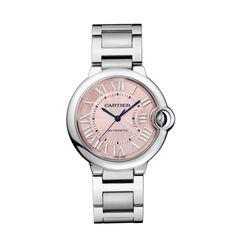 Cartier Ballon Bleu De Cartier Pink 36mm | Luxify | Luxury Within Reach