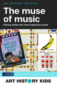 Art History Kids: The Muse of Music. Invite your kids to explore famous artists who were inspired by sound! Art History Lessons, History For Kids, History Education, Music Education, Muse Of Music, Art For Kids, Art Activities For Kids, Los Angeles With Kids, Importance Of Art