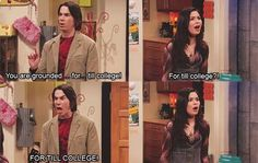 iCarly - yeah i know i may or may not be too old to watch this show. Tv Show Quotes, Movie Quotes, Kids Shows, Tv Shows, Icarly And Victorious, Victorious Nickelodeon, Drake And Josh, Nickelodeon Shows, Comedy