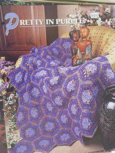 Pretty in Purple Afghan  Annie's Crochet & by CarolsCreations77, $2.50