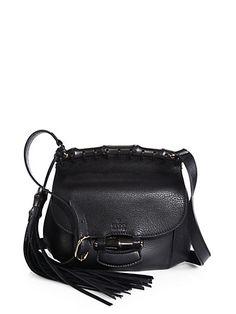 Gucci - Gucci Nouveau Leather Shoulder Bag - Saks.com us$1650