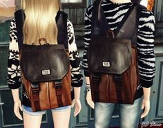 Buckaroo Backpack at JS Sims 3 - Social Sims 3 Finds