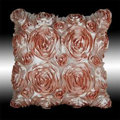 This Pillow would look great with my new comforter.  It would bring out the pink.