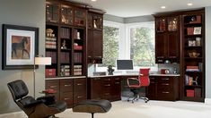 Sonoma Cabinets: Cherry Java | Timberlake Cabinetry for kitchen