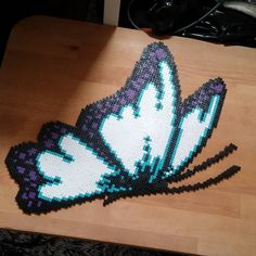 Butterfly hama perler beads by ciciliemischelle