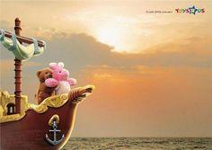 Toys'R'Us. Ads, repinned by www.BlickeDeeler.de