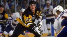 Mario Lemieux: 100 Greatest NHL Players Super scorer won Stanley Cup, Conn Smythe Trophy twice with Penguins, had 10 seasons of 100 points or more