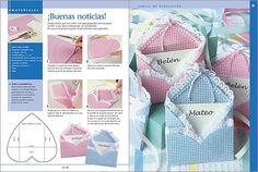 Moldes souvenirs nacimiento - Imagui