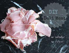 DIY Deli Meat - No nitrates, No fillers