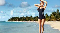 Beach Girl HD Wallpaper 1080p