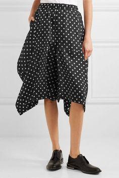 Comme des Garçons Comme des Garçons - Polka-dot Taffeta Skirt - Black - x small