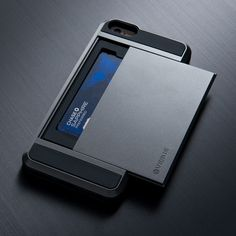 No more missing wallet for that mr. Handsome in your life. A sleek and slim iphone 6 case that holds up to 3 cards.