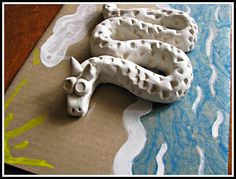 chinese clay dragons