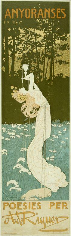 Anyoranses. Poesies per A. de Riquer (Nostalgies. Poetries by A. de Riquer) | Museu Nacional d'Art de Catalunya 1901