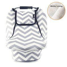 Stretchy Baby Car Seat Covers For Boys Girls,Winter Infant Car Canopy,Snug Warm Breathable Windproof, Adjustable Peep Window,Insect free,Universal Fit, Grey White chevron -Patented Design - https://all4babies.co.business/stretchy-baby-car-seat-covers-for-boys-girlswinter-infant-car-canopysnug-warm-breathable-windproof-adjustable-peep-windowinsect-freeuniversal-fit-grey-white-chevron-patented-design/  #Adjustable, #Baby, #Boys, #Breathable, #CanopySnug, #Chevron, #Covers, #D