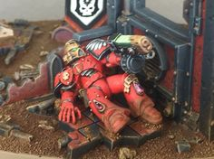 "House Hawkshroud Imperial Knight - ""Emperor's Sanction""."