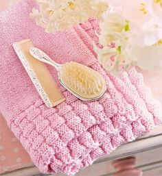 How to knit a baby blanket - Choose your own colors