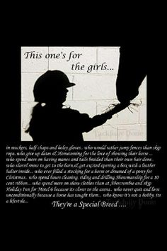For the horse girls ♡
