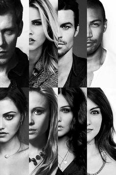The Originals Cast - Joseph Morgan, Claire Holt, Daniel Gilles, Charles Michael Davis, Phoebe Tonkin, Leah Pipes, Danielle Campbell & Daniella Pineda