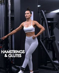 Leg And Glute Workout, Basic Workout, Gym Workout Videos, Gym Workouts Women, Fitness Workout For Women, Fun Workouts, Fitness App, Thigh Exercises, Bodybuilding Workouts