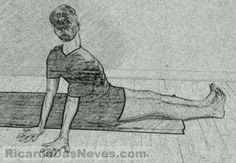 Visual Yoga Blog: the 2-Minute Shoulders & Upper-Back Release.