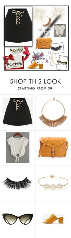 """""""Romwe"""" by malina-husgovic ❤ liked on Polyvore featuring Jules Smith and Elizabeth Arden"""