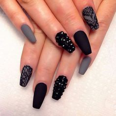 Image via We Heart It #fashion #nailart #nails #nailsart