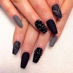 Image via We Heart It #fashion #nailart #nails #nailsart