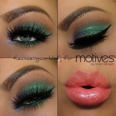 Gorg eye makeup