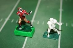 I have been in the electric football hobby for a long time and these are some of the best figures in the land!This auction is for 1 complete figure put together. It is a WIDE RECEIVER OR WHAT EVER YOU. Electric Football, Football Stuff, Roll Tide, Extra Money, Christmas Presents, Tudor, Scrapbooks, Childhood Memories, Nfl