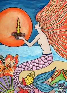 I am a tropical artist from Bradenton, FL. My goal is to bring my art to you through a wide array of colorful purses for the tropical lifestyle. Here's to livin' the beach life thru a tropical world of color. Tropical Colors, Tropical Art, Fire Art, Ship Art, World Of Color, Love Painting, Wall Murals, Original Artwork, My Arts