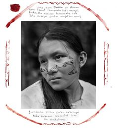 """My name is Jimena. As a Shiwiar woman, I love my country. To my nature, I love my animals, my monkey, my fish, my rivers, air that gives us life. For this reason, we do not want to exploit the oil in our territory."" (Felipe Jacome)"